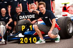 Davide Valsecchi celebrates winning the Championship with his team
