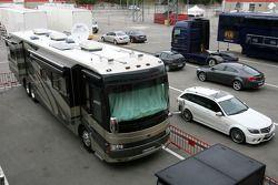 Motorhome of Michael Schumacher, Mercedes GP