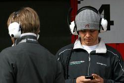 Nico Rosberg, Mercedes GP and Nick Heidfeld, Test Driver, Mercedes Grand Prix