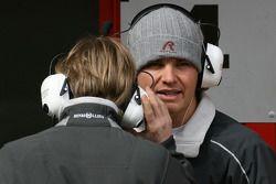 Nico Rosberg, Mercedes GP et Nick Heidfeld, Test Driver, Mercedes grand Prix