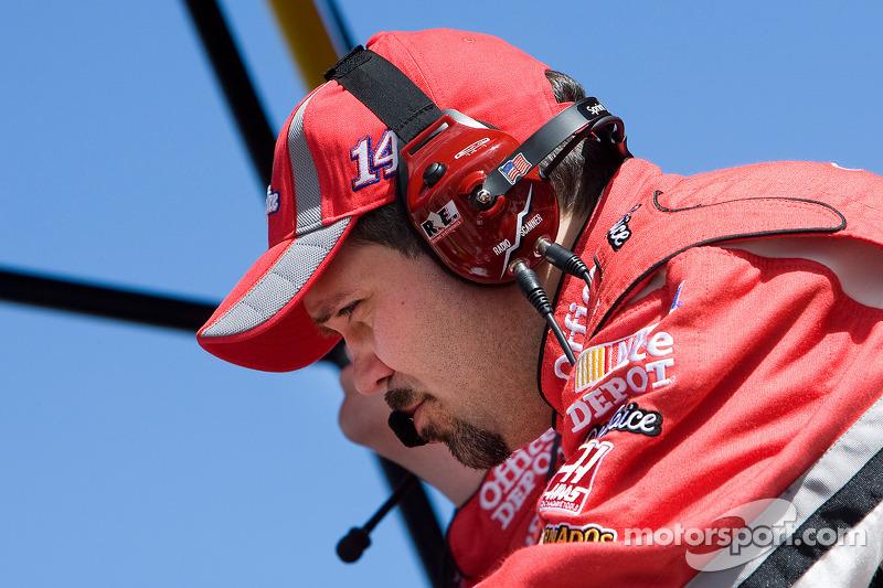 Darian Grubb, teammanager van Tony Stewart, Stewart-Haas Racing Chevrolet