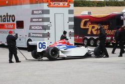 La voiture de Hideki Mutoh, Newman/Haas/Lanigan Racing