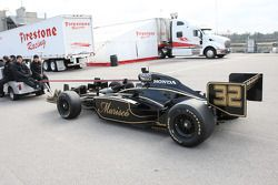 La voiture de James Rossiter, KV Racing Technology