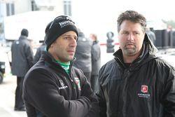 Tony Kanaan, Andretti Autosport en Michael Andretti