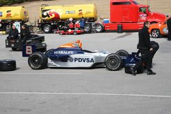 La voiture de Ernesto Viso, KV Racing Technology