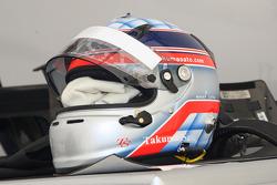 Helm van Takuma Sato, KV Racing Technology