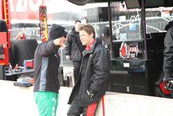 Tony Kanaan, Andretti Autosport en Marco Andretti, Andretti Autosport