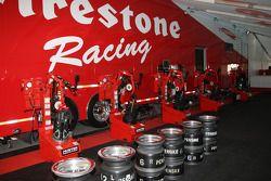 Le paddock Firestone