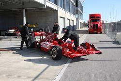 Voiture de Dario Franchitti, Target Chip Ganassi Racing