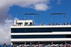 Les fans prêts pour la course à Las Vegas