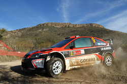 Federico Villagra y Jorge Perez Companc, Ford Focus RS WRC08, Munchi's Ford World Rally Team