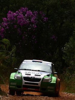 Jan Kopecky en Petr Stary, Skoda Motorsport Skoda Fabia S2000