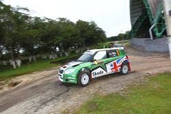Guy Wilks et Phil Pugh, Skoda UK Skoda Fabia S2000
