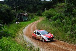Luis Eduardo Stedile et Lucas Generosi, Peugeot 207