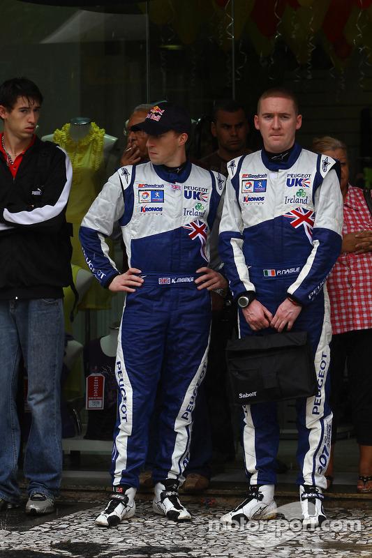 Kris Meeke et Paul Nagle, Peugeot UK Peugeot 207 S2000
