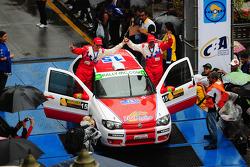Luis Tedesco en Gabriel Morales, Ted Racing Fiat Palio 1600