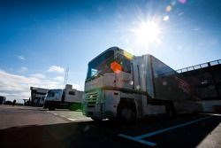 La camion Tech 1 Racing truck