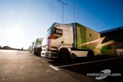 Circuit Paul Ricard March test
