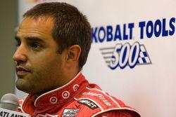 Juan Pablo Montoya, Earnhardt Ganassi Racing Chevrolet, conférence de presse après qualifications