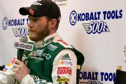 Polepositie Dale Earnhardt Jr., Hendrick Motorsports Chevrolet, persconferentie