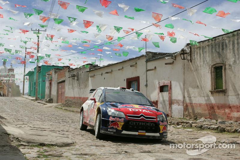 2010: Daniel Sordo y Marc Marti, Citroën Total World Rally Team