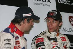 Persconferentie: Petter Solberg en Sébastien Loeb