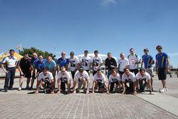 WRC rijders lopen in steun van Sport Relief
