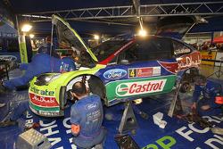 Área de servicio BP Ford Abu Dhabi World Rally Team