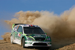 Matthew Wilson y Scott Martin, Ford Focus RS WRC 08, Stobart VK M-Sport Ford Rally Team