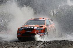 Henning Solberg and Ilka Minor, Ford Focus RS WRC 08, Stobart VK M-Sport Ford Rally Team