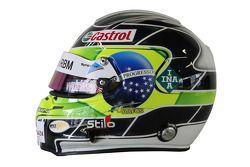 Augusto Farfus, BMW Team RMB, BMW 320si casque