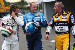 Andy Priaulx, BMW Team RBM, BMW 320si avec Robert Huff, Chevrolet, Chevrolet Cruze LT et Tom Coronel