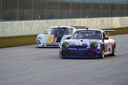 #66 TRG Porsche GT3: Ted Ballou, Andy Lally; #9 Action Express Racing Porsche Riley: Joao Barbosa, T