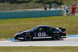 #88 Ranger Sports Racing Porsche 997: Marcelo Abello, Barry Ellis
