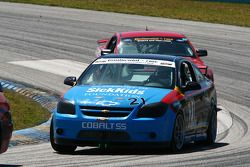 #21 GS Motorsports Chevrolet Cobalt SS: Andrew Danyliw, Jamie Holtom