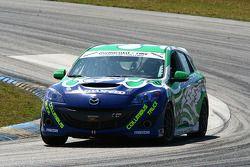 #28 Freedom Autosport Mazda Speed 3: Ryan Ellis, Ray Mason