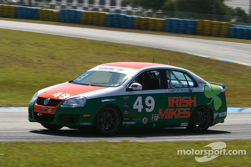 #49 Irish Mike Racing Volkswagen Jetta: Jack Corthell, John Lettieri