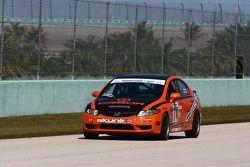 #74 Compass360 Racing Honda Civic SI: Lawson Aschenbach, David Thilenius