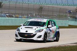 #27 Freedom Autosport Mazda Speed 3: Jason Saini, Dennis Trebing
