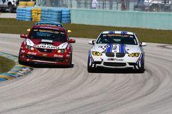 #35 Subaru Road Racing Team Subaru WRX-STI: Andrew Aquilante, Bret Spaude; #46 Fall-Line Motorsports