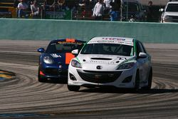 #27 Freedom Autosport Mazda Speed 3: Jason Saini, Dennis Trebing