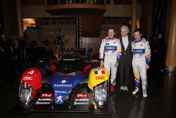 Olivier Panis, Hugues de Chaunac en Nicolas Lapierre met de ORECA-Matmut Peugeot 908 HDi FAP