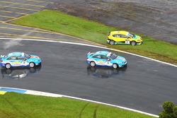 Yvan Muller, Chevrolet, Chevrolet Cruze LT en Jordi Gene, SR - Sport, Seat Leon 2.0 TDI