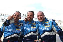 Alain Menu, Chevrolet, Chevrolet Cruze LT avec Yvan Muller, Chevrolet, Chevrolet Cruze LT et Robert Huff, Chevrolet, Chevrolet Cruze LT