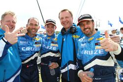 Alain Menu, Chevrolet, Chevrolet Cruze LT avec Robert Huff, Chevrolet, Chevrolet Cruze LT et Yvan Mu