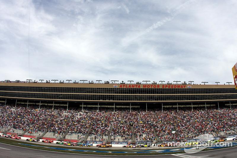 Arrancada: Dale Earnhardt Jr., Hendrick Motorsports Chevrolet lidera al resto