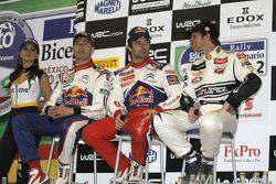 Sébastien Ogier, Sébastien Loeb en Petter Solberg