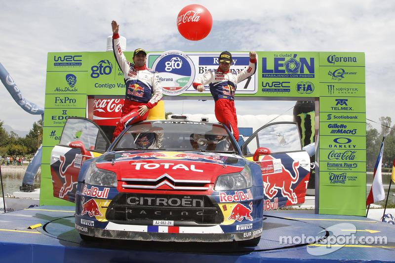 2010: Sébastien Loeb y Daniel Elena, Citroën C4 WRC