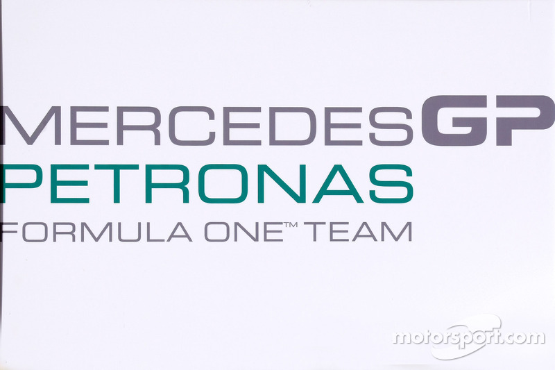 Logo Mercedes GP
