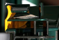Front wing detail, Lotus F1 Team